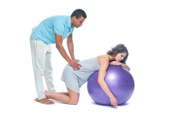 partner bij bevalling
