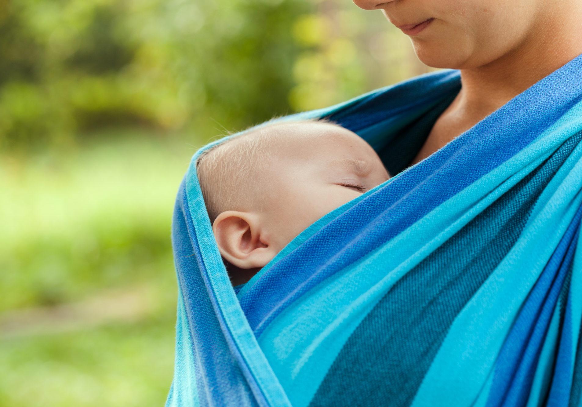 dragen van je baby