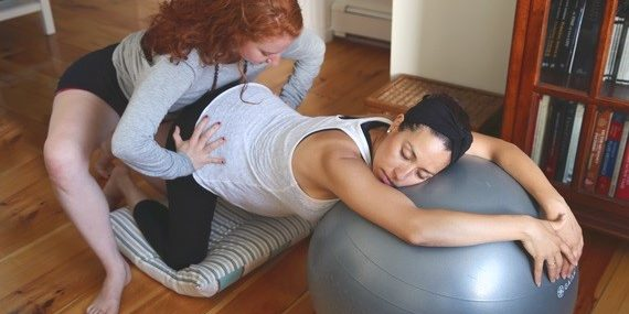 Herkennen Hoe Bevalling Begint Door Babyopkomst